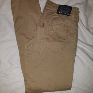 Levis 511 Slim fit khakis